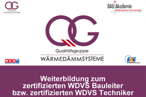 WDVS-Lehrgang für Techniker